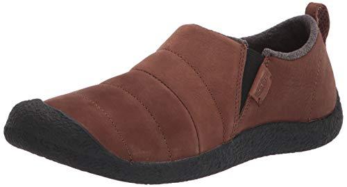 KEEN mens Howser 2 Leather Casual Slide Hiking Shoe, Bison, 8 US