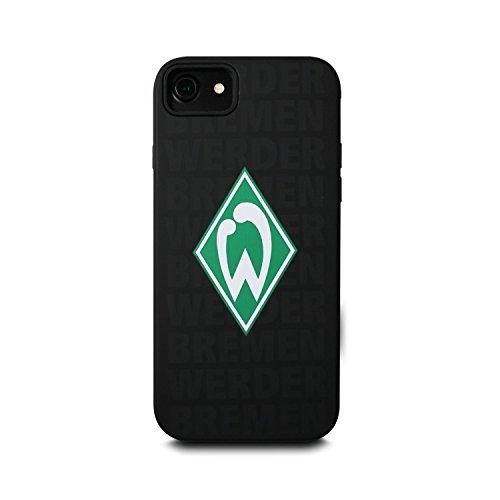 Werder Bremen Case - Vorstopper - Schutzhülle mit zertifiziertem Sturzschutz passend Für Das Apple iPhone 8 Und iPhone 7 - Schwarz