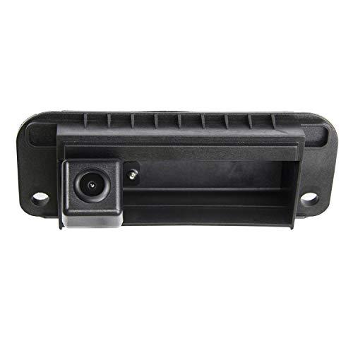 Cámara de visión nocturna HD 720p con visión trasera impermeable para monitores universales (RCA) para Mercedes Benz Clase C C180 C200 C260 MB W204 W205 S204 W212 2009-2013