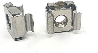 Lkjh 10st m4 m5 m6 m8 staal Quartet losse moer Cassette Elastic Bijsluitkaarten Cage Nuts (Size : M8)