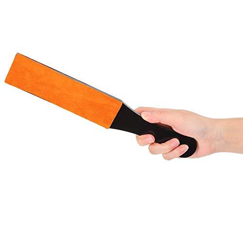 Rasoir droit, taille-crayon, poignée acrylique portable pour polir le cuivre, aluminium pour polir l'or, l'argent, le laiton