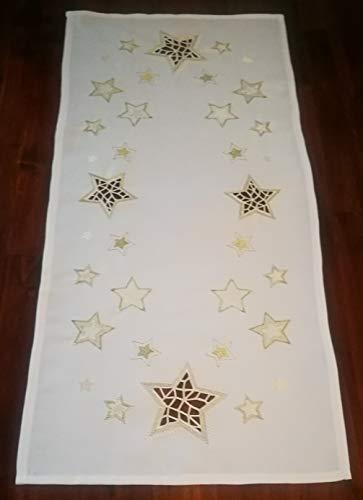 Aude Home tafelkleed, Kerstmis, middenkleed, loper