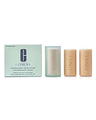 Clinique Gesichtsseife 3er Set Oily (3 x 50 g) 150 g