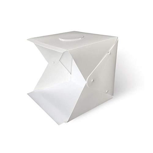 Photo Studio Light Box 16Inch/ 40cm Portátil Plegable Gancho y Loop Stand...