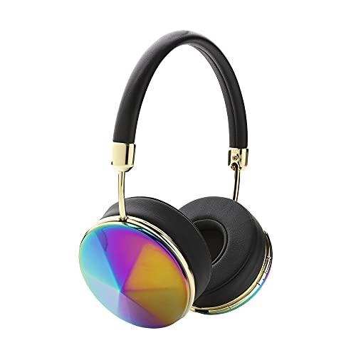 FRENDS Taylor Wireless – Cuffie da donna – Over-Ear – Bluetooth – Oil Slick su nero