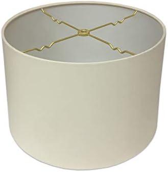 Royal Designs HB 610 18EG Shallow Drum Hardback Lamp Shade 17 x 18 x 11 5 Eggshell product image