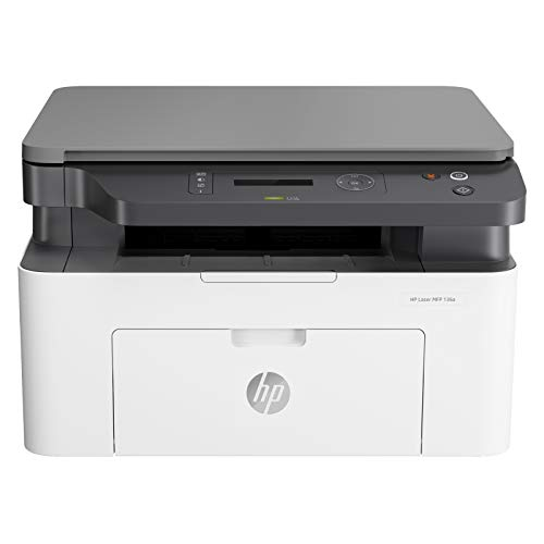 HP Laserjet 136a Monochrome Laser Printer with Scanner and Copier