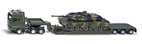 Siku 8612 - Militärtransporter mit Panzer, Fahrzeug