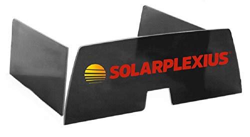 Solarplexius Sonnenschutz-Scheiben Passgenau für A3 8P 3-Türer Bj. 2003-12 Auto-Sonnenschutz Kinder Baby Scheiben-Tönung Sichtschutz Heckscheibe und Seitenscheiben