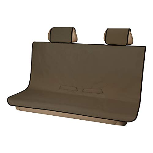 ARIES 3146-18 Seat Defender 58-Inch x 55-Inch Brown Universal Bench Car Seat Cover Protector