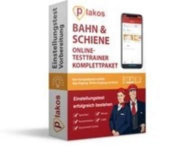 Bahn & Schiene Einstellungstest Komplettpaket: Online-Testtrainer mit Buch, geeignet für alle Bahnbetriebe und -berufe | Interaktive und authentische ... Allgemeinwissen, Konzentration
