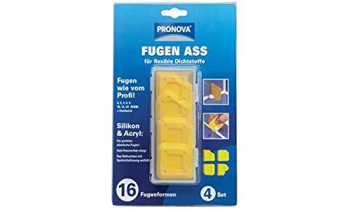 PRONOVA 19009600360070 Fugen Ass fr Silikon und Acryl, gelb