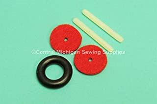 MACOSKI Supplies for Singer Sewing Machine Plastic Press in Spool PIN KIT Fits 401A, 403A, 404, DIY for Sewing Machine & Art Accessories
