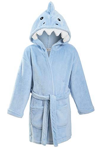 Scruffy Ted - Albornoz - Manga Larga - niño tiburón