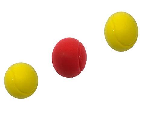 E-Deals Pelotas de tenis de espuma suave de 70 mm, paquete de...