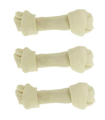 Great Lakes Dog Rawhide Bones Pack of 3. Large 8