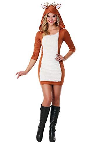 funcostumes Sexy disfraz de ciervo - Marrn -