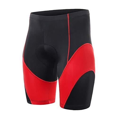 Pantalones cortos de ciclismo Los hombres de secado rápido de la ropa interior con la ropa interior de ciclo 3D rellenó gel de alta elasticidad bicicletas transpirable calzoncillos de bicicletas Short