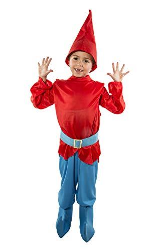 Costumizate! Disfraz de Duendecillo Talla 1-3 Especial para niños Fiestas de Disfraces o Carnaval
