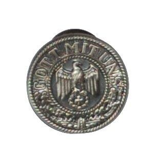 Original Handycop® Ansteckpin P90764 PIN aus Metall für Sammler Motiv - Eisernes Kreuz mit Adler - Gott mit uns