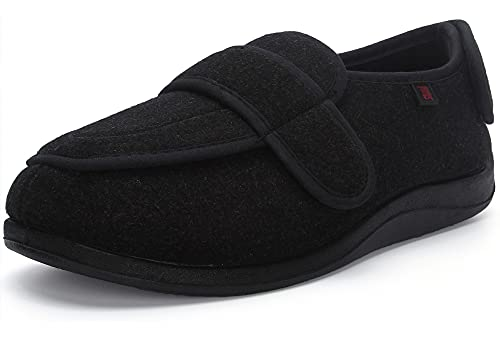 JIONS Women Men Adjustable Velco Extra Wide Shoes...