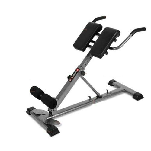 Product Image 2: HULKWHEELS Bench Roman Chair Back Hyperextension Adjustable AB Bench Hyperextension Exercise Hyper Bench Strength Training Back Machines (Black)