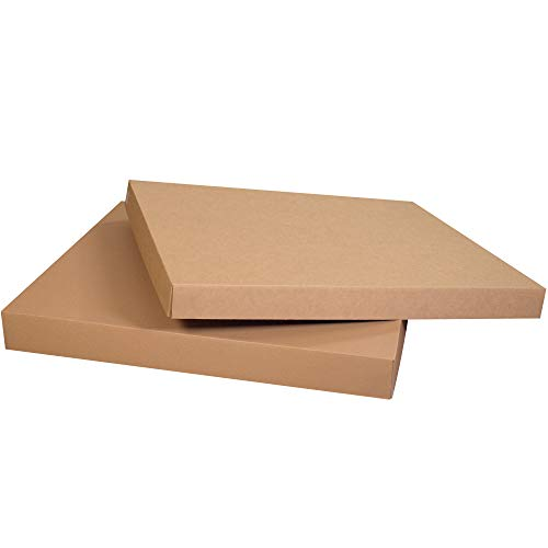 40 3/4' x 40 3/4' x 5' Double Wall Corrugated Cardboard Gaylord Lids, Kraft, Pack of 5, for Shipping, Packing and Moving, by Choice Shipping Supplies