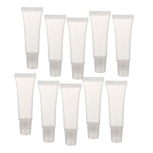 Romote 36 Pcs 8g Lip Gloss Tubes Mini Clair Lip Gloss Balm Videz Container Doux Tubes De Maquillage Beauty Box Accessoires pour Les Filles De Femmes