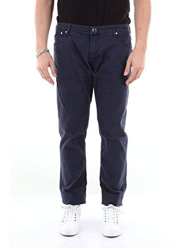 Jacob Cohen Luxury Fashion Uomo J69600305VBLUE Blu Cotone Jeans   Stagione Outlet
