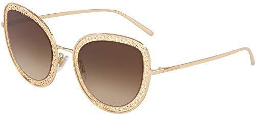 Dolce & Gabbana 0DG2226 Gafas de sol, Gold, 54 para Mujer