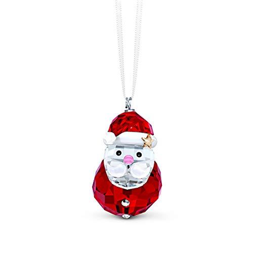 Swarovski Decorazione Babbo Natale Dondolino