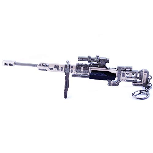 MANHUAN APEX Legendary Game Turn Kraber rifle de francotirador de metal modelo de arte colección de juguetes llavero