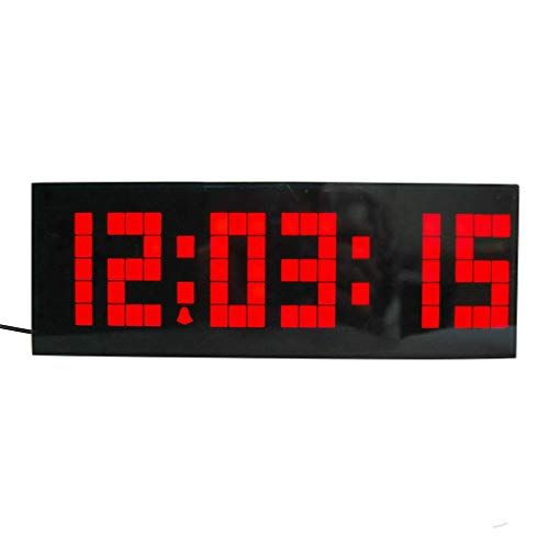 Idyandyans elektronischer Wecker Multifunktions-Zyklus Anzeige Datum Temperatur Countdown-Timer-Taktgeber