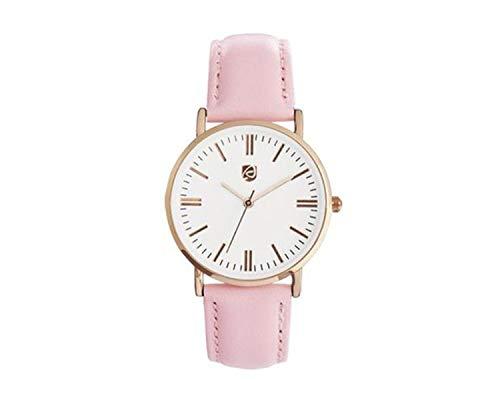 Auriol Damen Uhr Analog Quarz Uhrwerk Armbanduhr Rosa