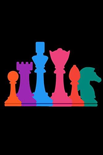 Schach Notizbuch: DIN A5 Kariert 120 Seiten | Planer Tagebuch Notizheft Notizblock Journal To Do Liste | Chess Schachspieler Schachspielerin ... Weihnachten Adventskalender Geburtstag