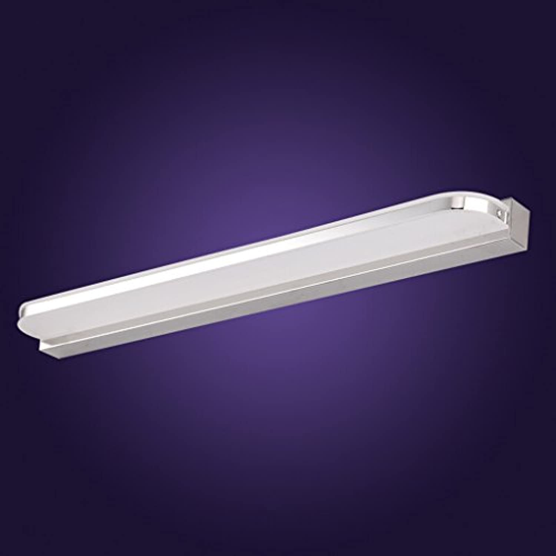 LED-Spiegel-vordere Lampen-wasserdichte Nebel-Badezimmer-Spiegel-Lampen-Wand-Lampen-europische Art-einfache Spiegel-Kabinett-Lichter ( Farbe   Warm Farbe-60cm-10w )