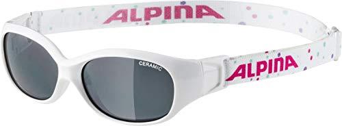 ALPINA Sports Flexxy Kids Lunettes Mixte Jeunesse, Blanc, Taille Unique