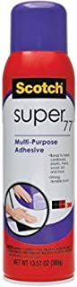 Scotch Super77 Multipurpose Adhesive Spray 13.57 Oz