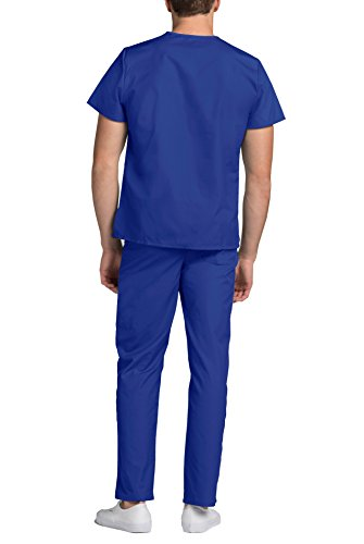 Adar Universal Medical Scrubs Set Medical Uniforms – Unisex Fit – 701 – RYL -2X - 4