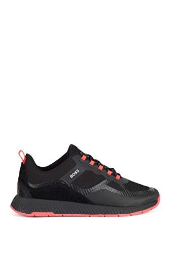 BOSS Business Herren ESP-Titanium_M_ATR Sneaker, Black1