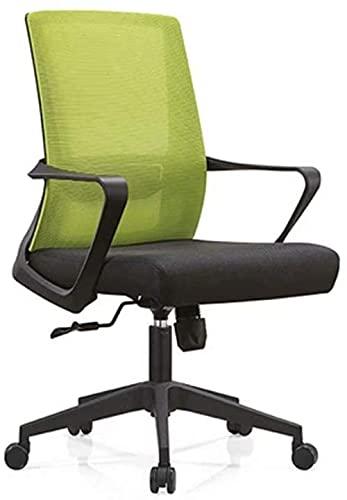 BRFDC Noble Chair Moderne minimalistische High Back Boss Stuhl Künstliche Körperstuhl liefern Computerstuhl Bürostuhl Lederstuhl Hausstuhl (Color : Yellow-2)