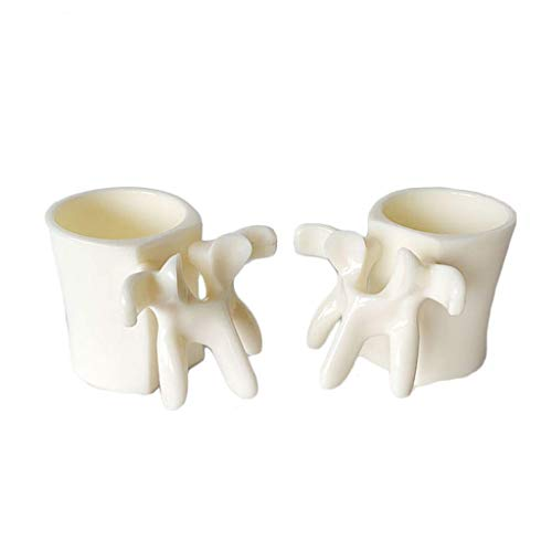 ALBB Vertebral Copa Humana Spine Pen Holder Creative Toy Ornaments Taza de Hueso Extraño Regalo Modelo Avanzado PVC Material