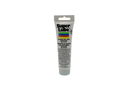 Super Lube 98003 Silicone Heat Sink, 3 oz Tube, White