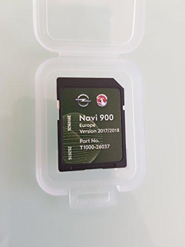 Tarjeta SD GPS Opel NAVI600 NAVI900 Europe 2017 2018