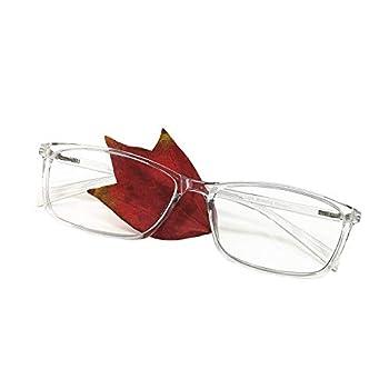 Reading Glasses 2.0 Blue Light Blocking Reader Gaming Screen Digital Eyeglasses Anti Glare Eye Strain Transparent Lens UV Light Weight for Women Men