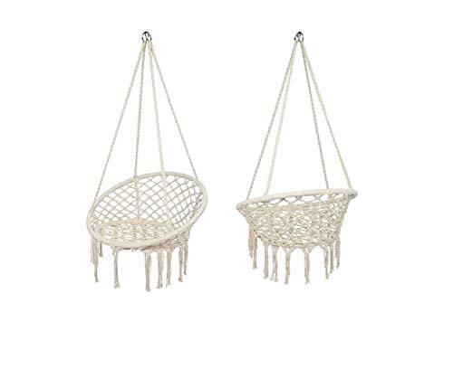 RAXTER Hanging Chair, Holds up to 120 kg, Scandinavian, for Living Room, Bedroom, Terrace, Balcony, Garden