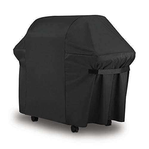 Couvertures de gril de barbecue, couverture de gril à gaz, couverture de gril de barbecue extérieur résistante imperméable résistante de polyester 420D pour la plupart des marques de gril,152x76x122cm