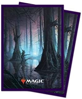 MTG Unstable John Avon Swamp Ultra Pro Printed Art Magic The Gathering Card Game 100ct Printed Art Card Sleeves