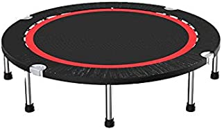 Trampoline Home Aerobic Fitness Bouncer, Durable And Silent Bounce Mini Trampoline, Suitable for Home Gym Indoor trampolin...