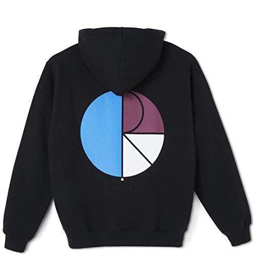 Polar Skate & Co. 3 Fill Logo Hoodie Black Neuheit 2021, Schwarz XL